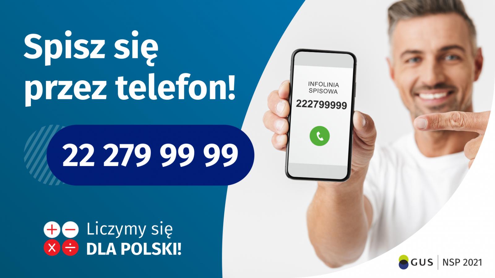 Spisz się przez telefon - Narodowy Spis Powszechny